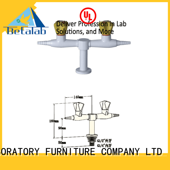 types of fittings in the laboratory side angle BETA Brand