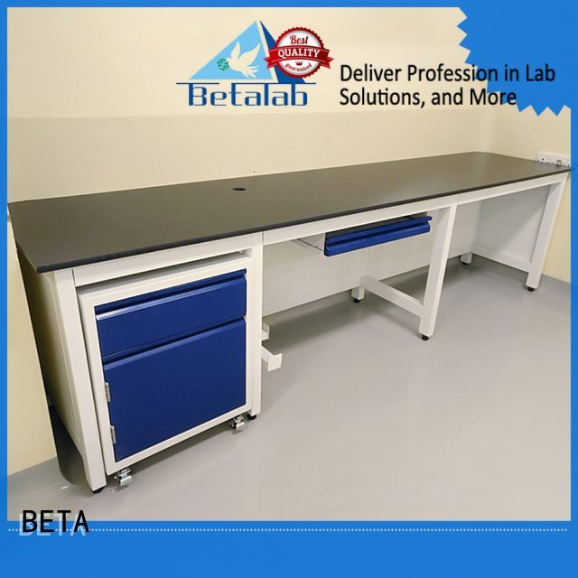 BETA Brand lab steel laboratory furniture manufacturers biologic working