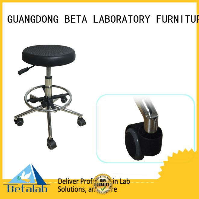 revolving lab stools castors stool
