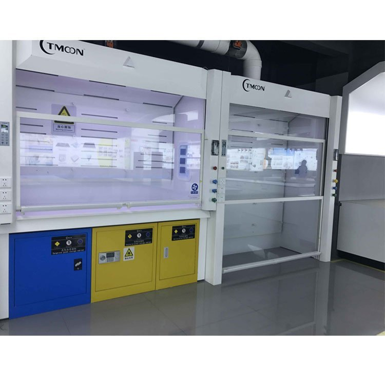 C-Frame steel bench BETA fume hood