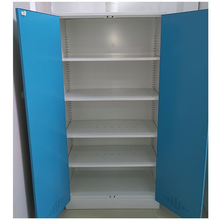 Lab Storage Cabinet With Adjustable Shelves