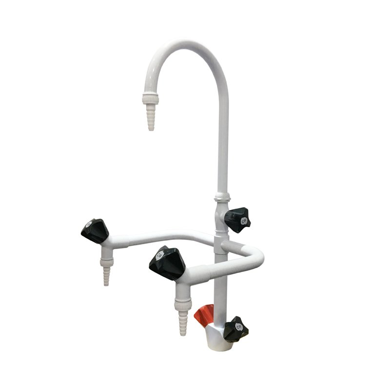 Triple-way Brass Faucet Lab Tap