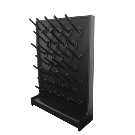 PP Single Side Drip Rack PP Pegboard