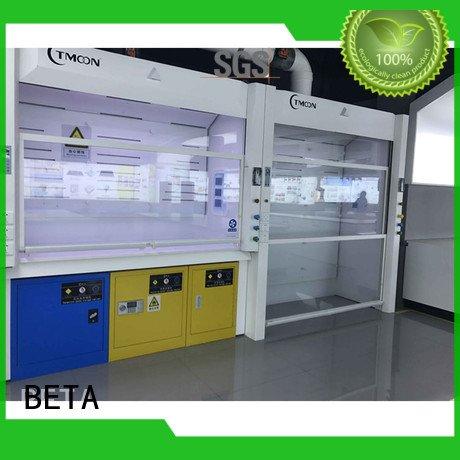 C-Frame steel bench BETA fume hood
