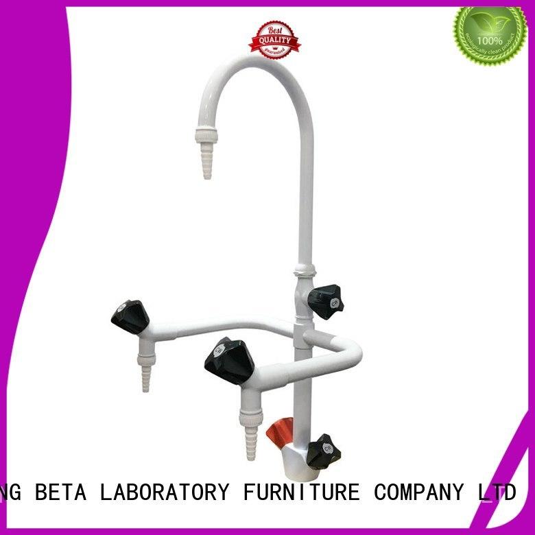 tripleway gooseneck laboratory fittings way BETA, betalab, lab fittings company