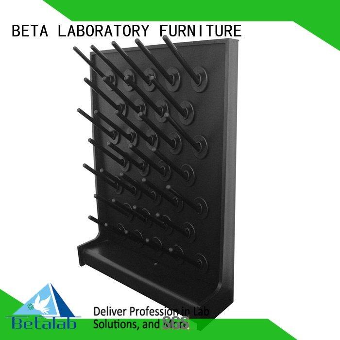 angle single side brass BETA laboratory fittings
