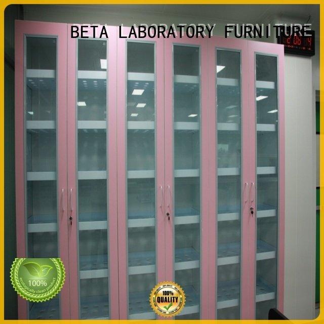 BETA storage vessel chemical storage cabinets adjustable shelves