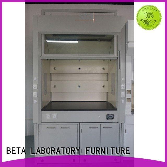BETA steel Wood laboratory lab fume hood fume