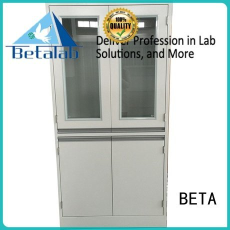 BETA Brand lab vessel glassware chemical storage cabinets storage