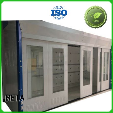 lab fume hood cupboard Stainless Steel hood BETA