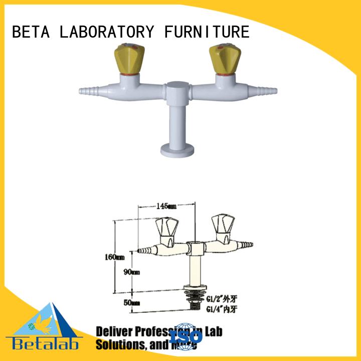 Lab fittings supplier lab tripleway rack tap