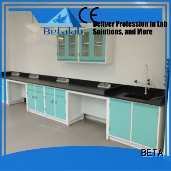 BETA laboratory furniture manufacturers table biologic working biochemistry