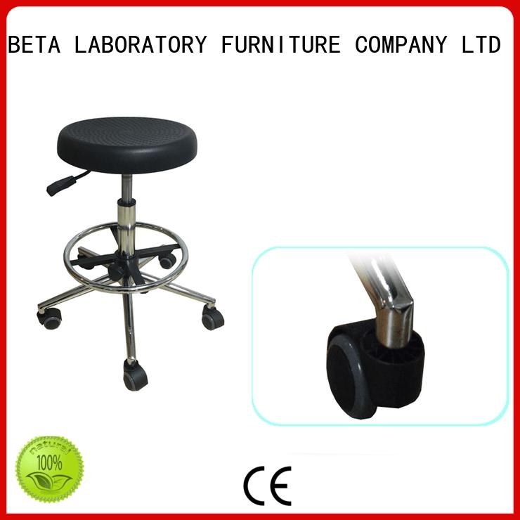 lab seating adjustable stool Warranty BETA, betalab, lab fittings