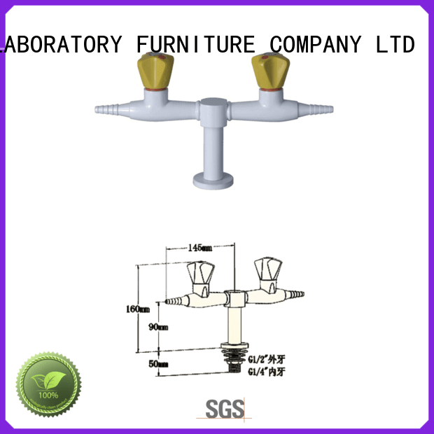 Lab fittings supplier faucet tripleway BETA, Brlon Brand