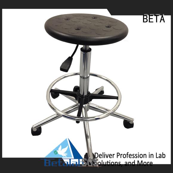 lab chairs steel revolving lab stools BETA Warranty