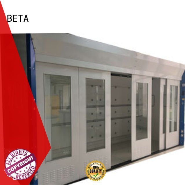 BETA lab fume hood H-Frame Stainless Steel C-Frame