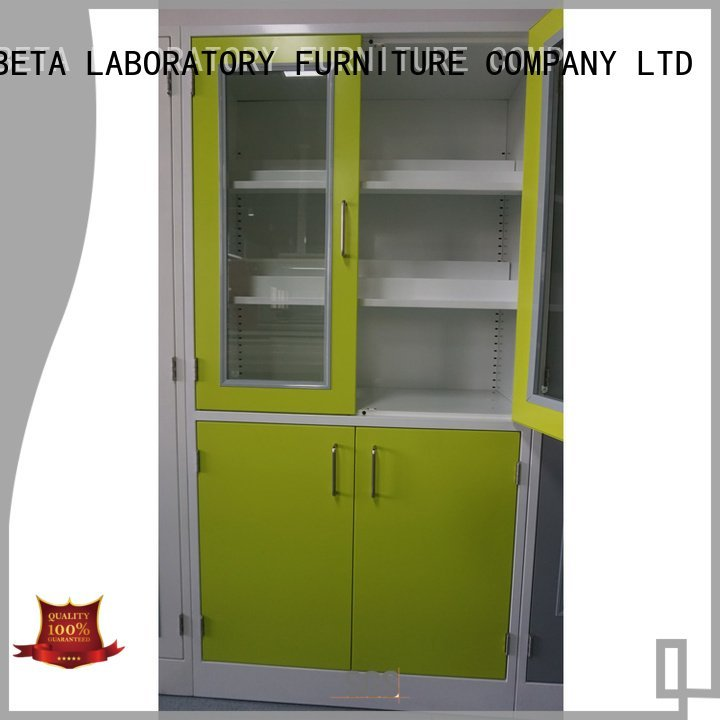 Storage Cabinet glassware cabinet shelves lab BETA, Brlon