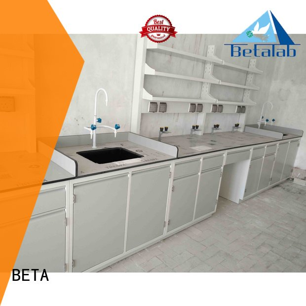 Hot laboratory furniture manufacturers workbench steel table BETA Brand