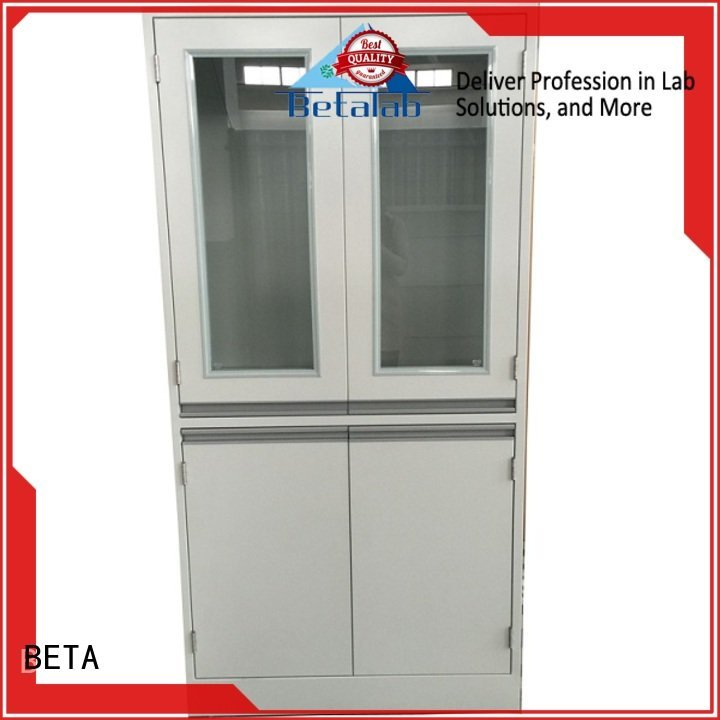 BETA Storage Cabinet adjustable vessel cabinet reagent