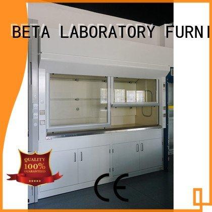 BETA Brand fume laboratory Stainless Steel fume hood C-Frame