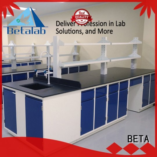BETA workbench mounted laboratory furniture manufacturers floor furniture