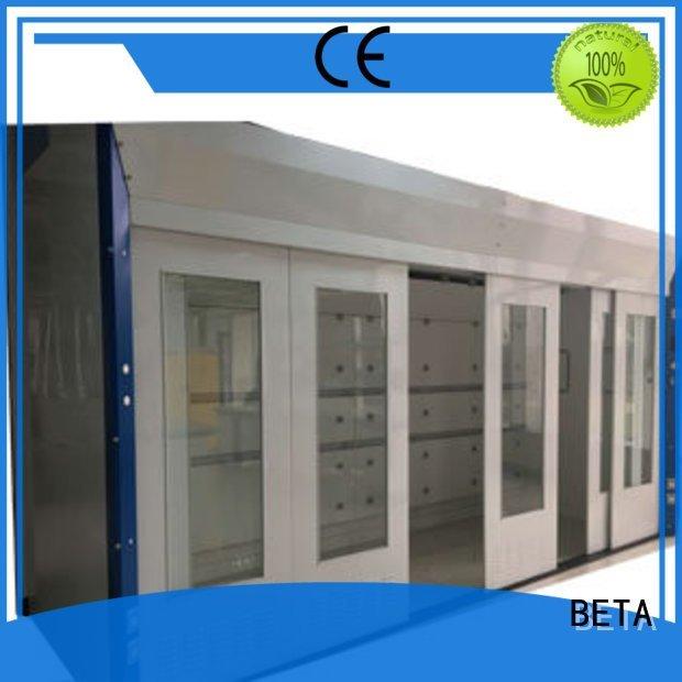 BETA Brand steel exhaust Stainless Steel fume hood laboratory