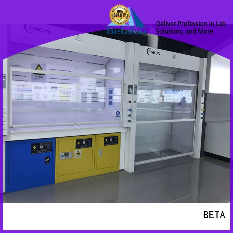 BETA exhaust C-Frame fume hood bench hood
