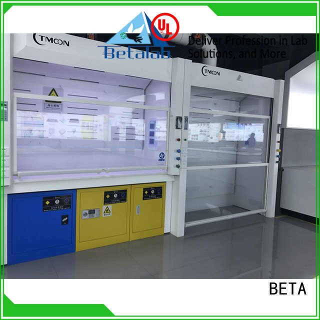 cupboard C-Frame exhaust lab fume hood BETA
