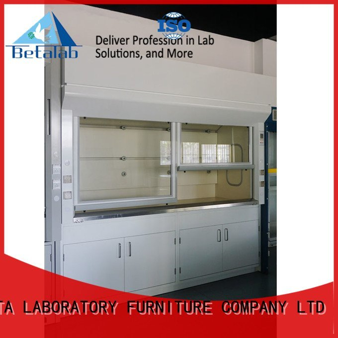 Hot lab fume hood bench fume hood Stainless Steel BETA