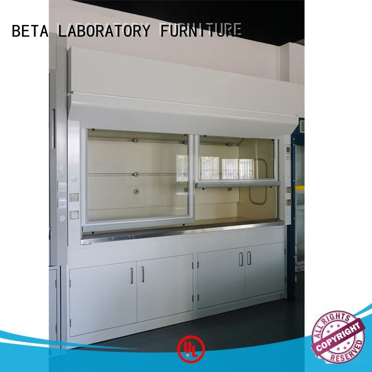 Hot lab fume hood steel fume hood bench BETA