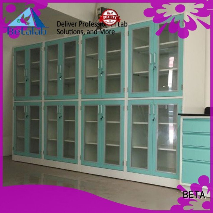 BETA Brand reagent shelves chemical storage cabinets storage lab