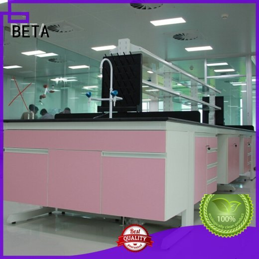 BETA laboratory furniture manufacturers bench table floor biologic