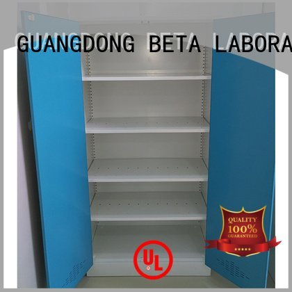 BETA Brand vessel Storage Cabinet reagent shelves