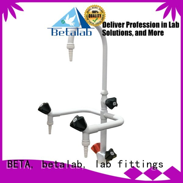 benchtop double tap BETA, betalab, lab fittings Brand laboratory fittings