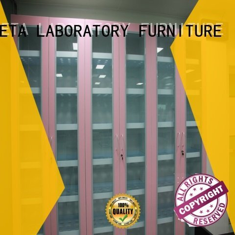 shelves glassware lab BETA chemical storage cabinets