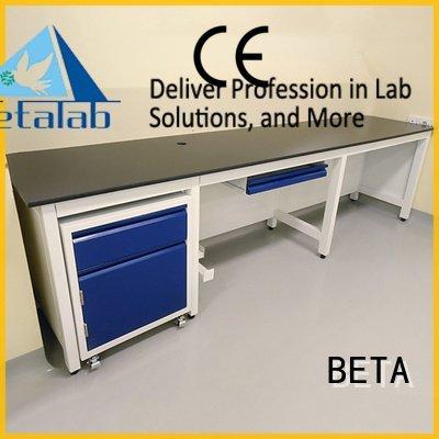 BETA laboratory furniture manufacturers biochemistry lab chemical hframe