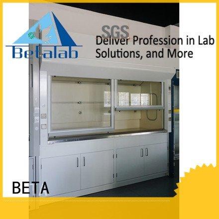 BETA Brand H-Frame lab fume hood steel hood