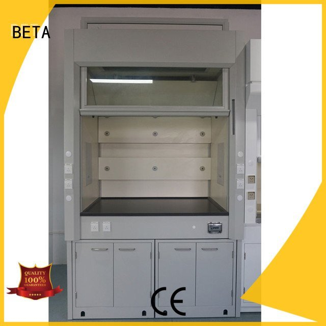BETA Brand fume lab fume hood bench exhaust