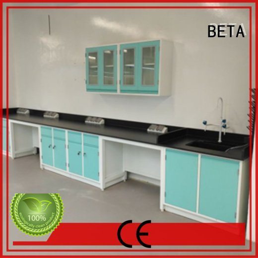 BETA Brand bench laboratory furniture manufacturers biologic lab