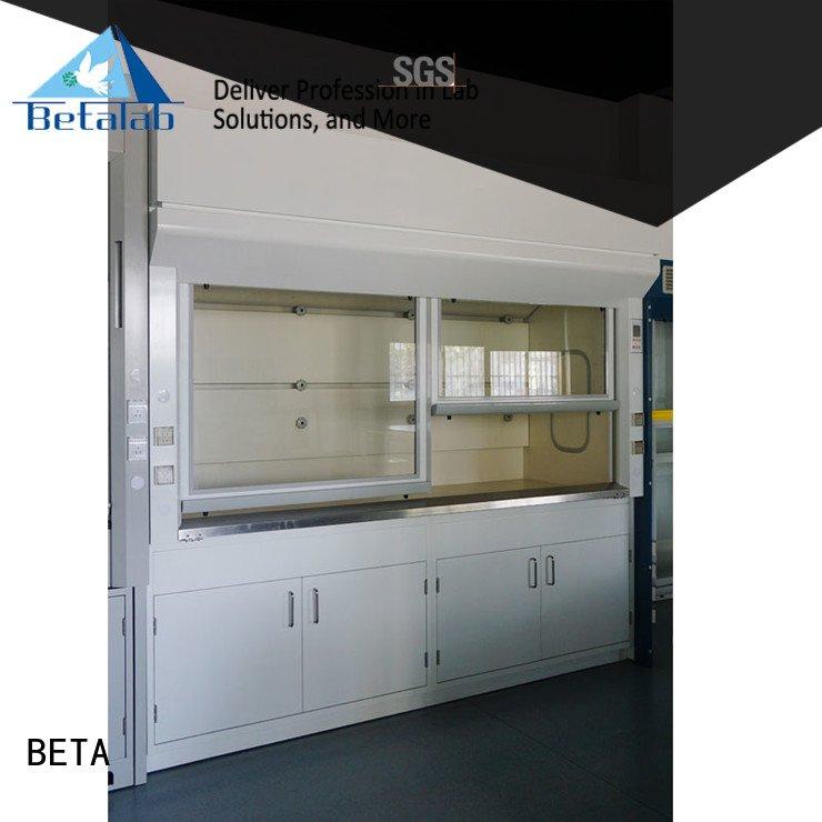 Custom fume hood Stainless Steel cupboard steel BETA