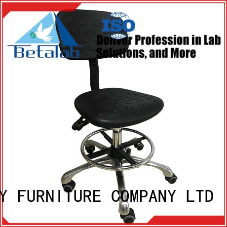 BETA Brand armrest pu height lab stools