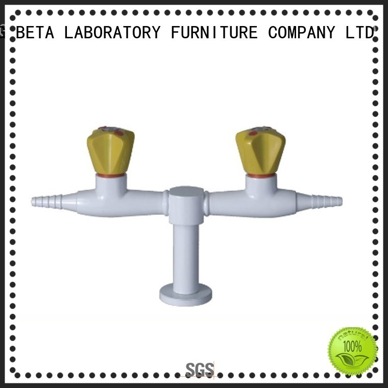 laboratory fourhead faucet valve BETA, betalab, lab fittings Brand