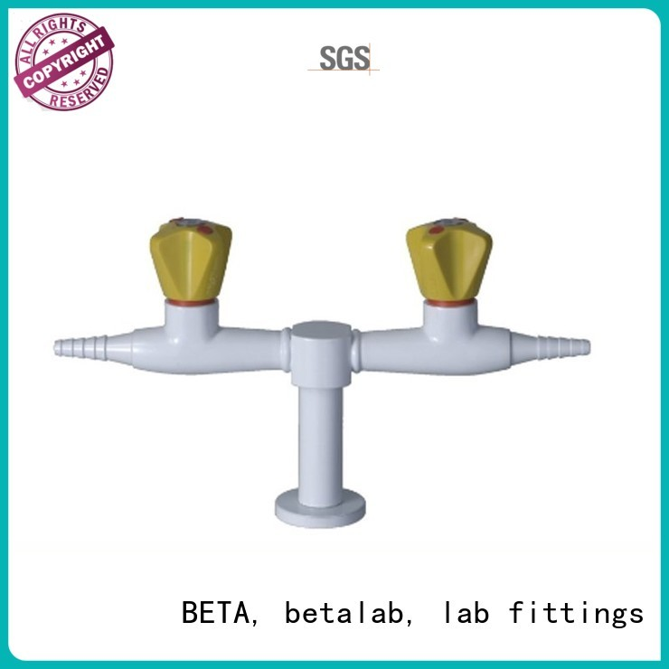 air right faucet valve doublehead BETA, betalab, lab fittings company