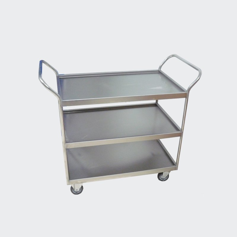 High Grade Laboratory Stainless Steel Trolly
