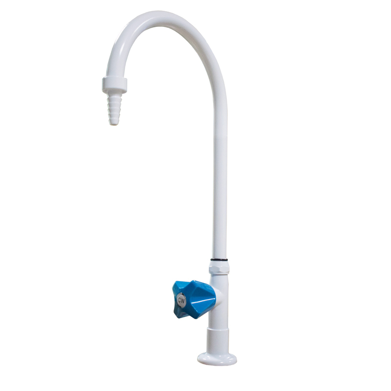 Lab Popular Single Way Faucet Bench-top Gooseneck Water Tap