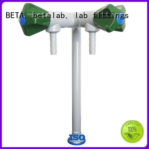 BETA, betalab, lab fittings Brand top tripleway fitting Lab fittings supplier steel