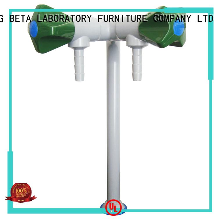 top cold tripleway laboratory fittings BETA, betalab, lab fittings Brand