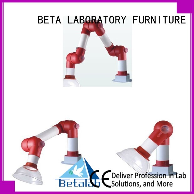 Hot lab fume hood benchtop BETA, betalab, lab fittings Brand