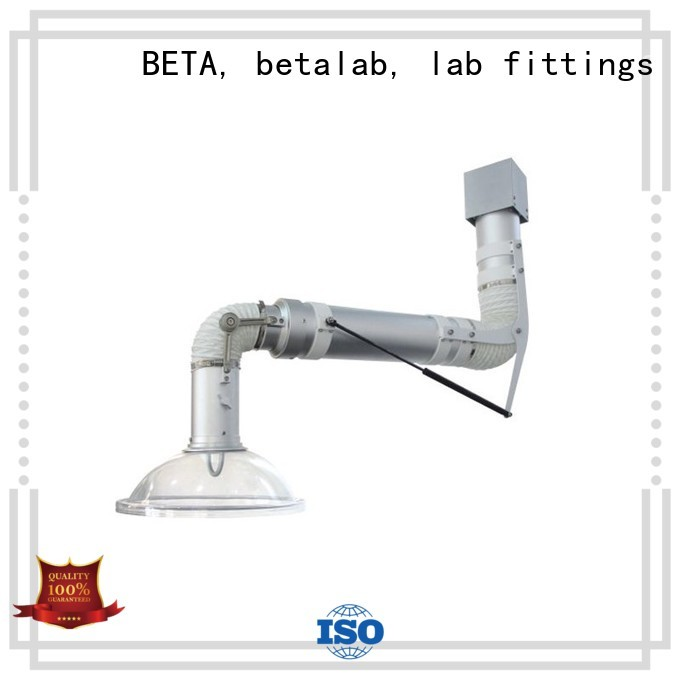 scalable alloy lab fume hood fume BETA, betalab, lab fittings Brand