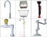 BETA, betalab, lab fittings Brand gooseneck way Lab fittings supplier stainless